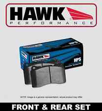 [FRONT + REAR SET] HAWK Performance HPS Disc Brake Pads HPP51697 EVO X w/BREMBO