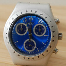 swatch `HYPNOTIC`ALUMINIUM CHRONO watch..BNIB WITH LONG WARRANTY..ex display