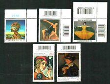 5 MODERN ART ISSUES 2005 - 2015 SUPERB MNH AUSTRIA STAMPS