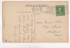 Miss Grace Allen Otis Street Medford Massachusetts USA 1915 955a