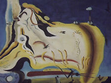 abstract dali style large oil painting art contemporary modern original reporo