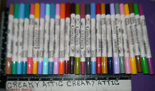 PIGMENTED CALLIGRAPHY MARKERS 27 MARVY UCHIDA DOUBLE SIDED ACRILIC STAMPS #993