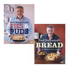 Paul Hollywood's Collection Pies and Puds & Bread 2 Books Set Pack Brand New