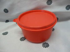 Tupperware Round Dip Container Bowl Fits Serving Centre Watermelon Red New