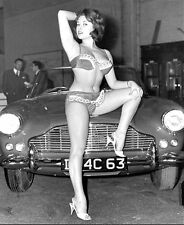 1960-1969 GIRLS and CARS b/w glamour classic photo (Celebrities & Musicians)