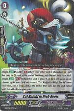 CARDFIGHT VANGUARD CARD: CAT KNIGHT IN HIGH BOOTS G-BT06/036EN R RARE