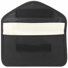 RF Signal Blocker Anti-Radiation Shield Case Bag for Large-size CellPhone Black