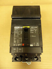 SQUARE D HL 150 HLA36100 3 POLE 100 AMP 600V CIRCUIT BREAKER HLA BLACK LABEL