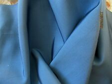 """ANTIQUE VICTORIAN FRENCH SILK GROSGRAIN RIBBON MILLINERY FABRIC BLUE 31""""x10 3/8"""""""