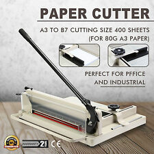 "17"" Manual Guillotine Paper Cutter Trimmer Machine Heavy Duty Commercial A3 NEW"