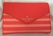 NWT Kate Spade Monday Fairmount Square Geranium Salmon Pink Clutch Shoulder Bag