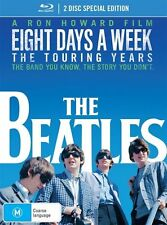 The Beatles-Eight Days A Week-Touring Years (Blu-ray, 2016, 2-Disc Set) Region B