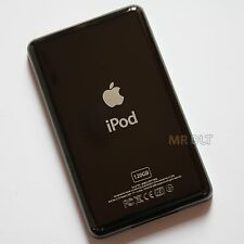 Custom BLACK 120GB Back Housing For iPod Classic Rear Cover Plate Panel - UK