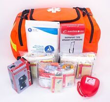 BRAND NEW PARAMEDIC FIRST RESPONDER TRAUMA EMERGENCY MEDICAL KIT- FULLY STOCKED