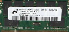 NEW 512mb HP/Compaq Presario 1500/2100/2200/2500/2800 Series DDR Laptop Memory