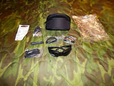 NEW Wiley-X SG-1 Smoked Clear Glasses Goggles Ballistic Certified Eyewear