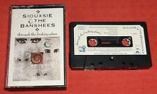 SIOUXSIE & THE BANSHEES - UK CASSETTE TAPE-THROUGH THE LOOKING GLASS-PAPER LABEL