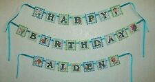 OCTONAUTS Personalized Birthday Banner Party Favor SHOWER Banner