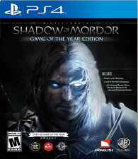 Middle Earth: Shadow of Mordor Game of the Year Edition PS4 New PlayStation 4, p