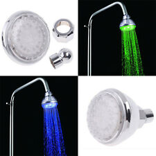 Great 7 Colorful LED Shower Spray Head Sprinkler Anion Bathroom Accessories