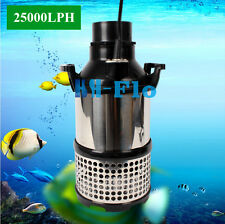 HSH-Flo 25000LPH GPH Submersible Koi Pond Waterfull Garden Fountain Pump