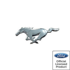 2015-17 Mustang Pony Rear Emblem Chrome Ford Official Licensed
