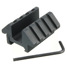 Black Tactical 45 Degree Offset Dual Side Weaver For 20mm Picatinny Rail Mount