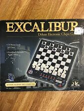 Excalibur Deluxe Electronic Chess Game 901e-4 NOS Tested Works