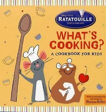 Whats Cooking?: A Cookbook for Kids (Ratatouille),GOOD Book