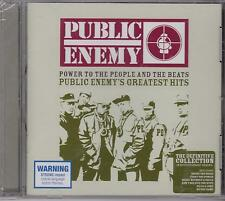 PUBLIC ENEMY'S GREATEST HITS - POWER TO THE PEOPLE  - CD - NEW