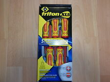 CK T4729 ELECTRICIANS 5PCE TRITON XLS SCREWDRIVER SET