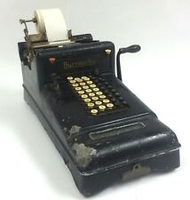 Vintage Burroughs Class 3, 9 Column, Printing, Adding Machine serial #3-477477