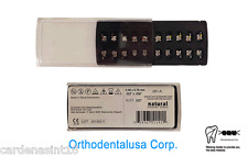 ORTHODONTIC BRACKET ROTH.022 SYSTEM MESH BASE W/HOOK 3,4,5 /20 PCS/N281-A/ODUSA