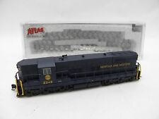 Brand New N Atlas Norfolk and Western N&W SD-9 #2349 DCC Ready