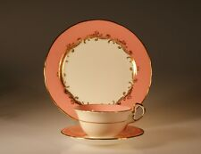 Aynsley Sheraton Trio - Cup, Saucer and Lunch Plate, pattern #8163