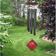 Chimes of Mars - Black Woodstock Windchimes Tuned Handcrafted Wind Chime Metal