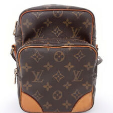 AUTHENTIC LOUIS VUITTON Monogram Amazon M45236 Cross Body Shoulder Bag Brown