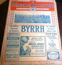 LE MONDE ILLUSTRÉ n° 3106 , 1917, guerre de 1914-18