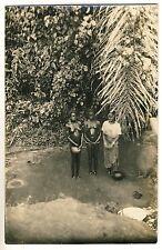 Ghana NUDE GIRLS' BATH / BADENDE NACKTE MÄDCHEN Ashanti * Vintage 1920s Photo PC