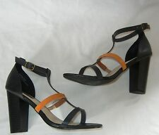 Urban Outfitters Deena & Ozzy Strappy Open Toe High Heeled Sandals size 8