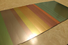 """14 Sheets of DOUBLE SIDED Metallic Foil CARD STOCK 8.5"""" X 11"""" Beautiful Colors"""