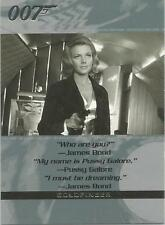 James Bond Quotable - NSU1 Non-Sport Update Show Promo Card