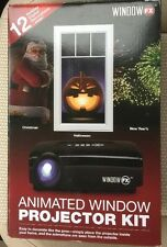 WindowFX Animated Window Projector Kit Includes 12 Pre-loaded Holiday AtmosFX