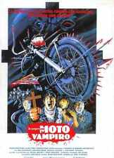 I Bought A Vampire Motorcycle Poster 01 Metal Sign A4 12x8 Aluminium