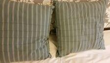 Pair Calvin Klein Pelham Rib Stitch Decorative Cushion Pillow (18x18) New $150