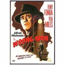 The Wrong Man (DVD 2004) perfect for an Alfred Hitchcock collection Genuine DVD