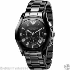Emporio Armani AR1400 Ceramic Watch For Men's Chronograph Watch With Box