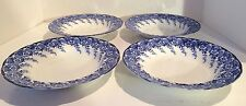 Set of 4 Antique Bowls, F. Winkle & Co, England, 1899, Stunning