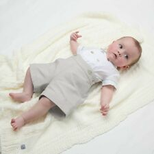 FENDI BABY BEIGE BUSTER SHORTS SUIT 2 PIECE SET 3 MONTHS