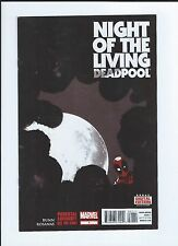 Night of the Living Deadpool 1-4 complete Marvel --- Rare KEY Comic book